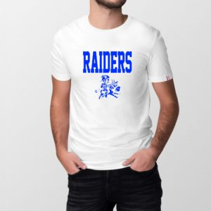 T-shirt Homme Made in France - RAIDERS - 100% Coton BIO.